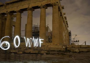 Παρθενώνας, Ώρα της Γης 2015. Photo (c) Andrea Bonetti