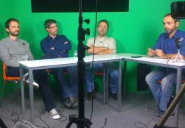 Live για τη θέρμανση στο στούντιο του Garage TV (Photo: Manolis Andriotakis)